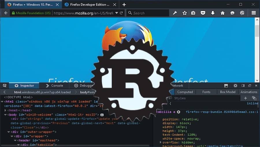 Mozilla 2 Ağustos itibariyle Firefox Tarayıcısında Rust programlama dilini kullanacak