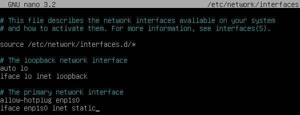 Debian Linuxta Statik IP İşlemleri