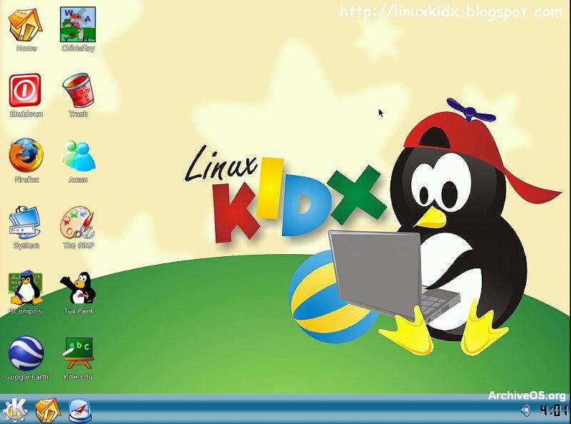 Linux'u Çocuklar İçin Yapılandırma